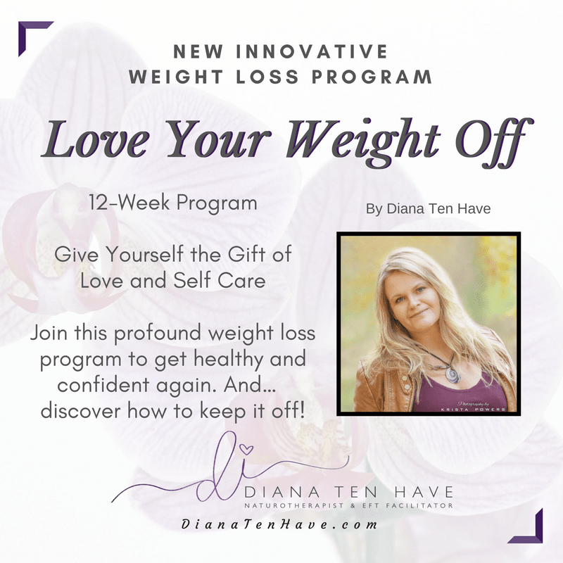 12 week Program 'Love Your Weight Off'